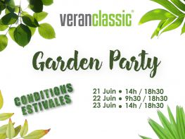 Garden Party chez Veranclassic