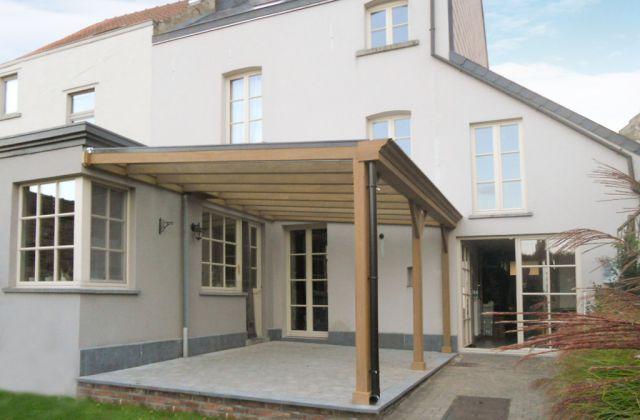 Veranclassic houten of aluminium pergola