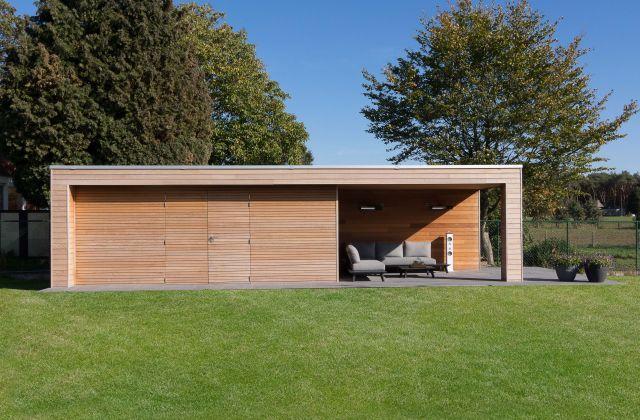 Moderne poolhouse op maat