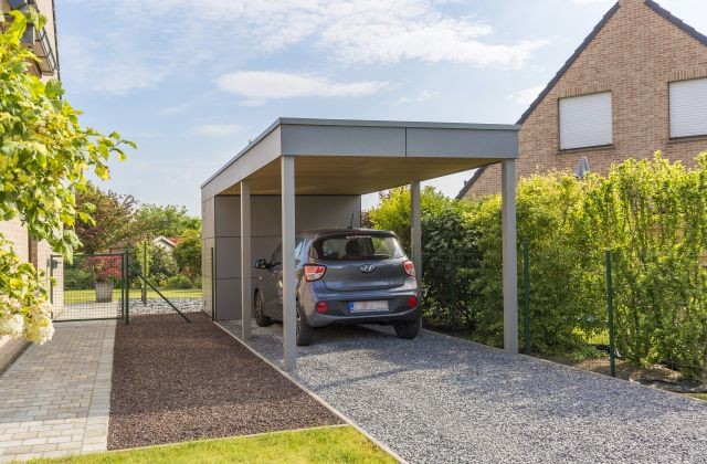 Carport Moderne en Trespa