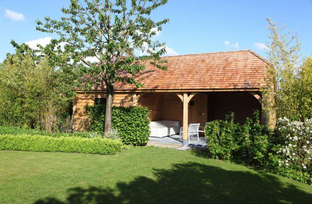 Veranclassic kies voor een houten tuinconstructie op maat for Jardin style cottage anglais