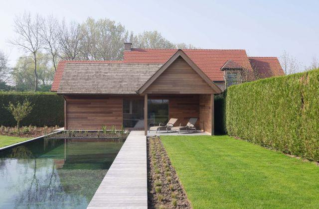 Pool house classique