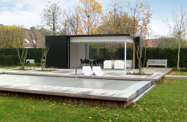 Design pool house