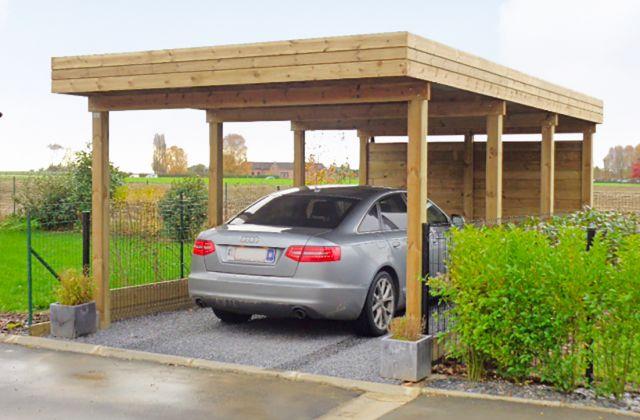 Carport moderne indépendant