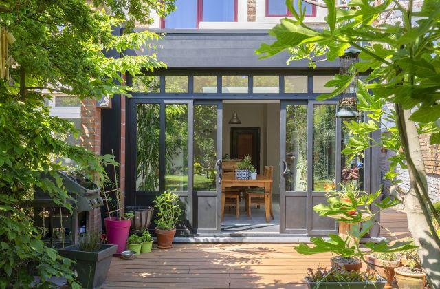 Extension de Maison Moderne en Aluminium
