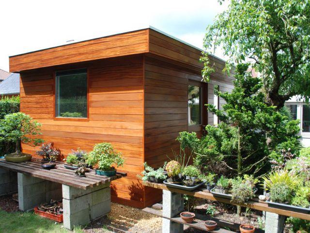 Modern tuinhuis op maat