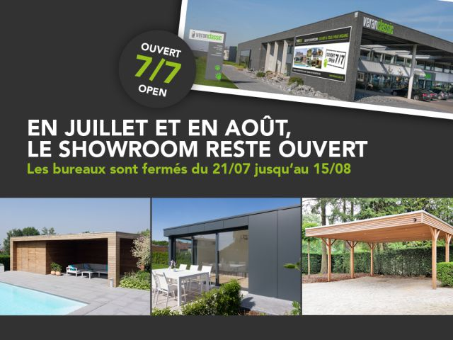 showroom ouvert