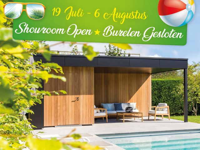 Showroom Veranclassic ganse zomer open