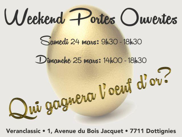Weekend portes ouvertes 24 et 25 mars