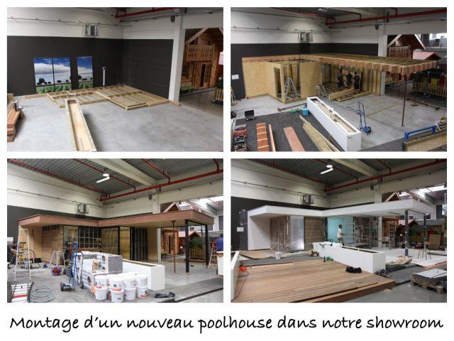 Montage Poolhouse