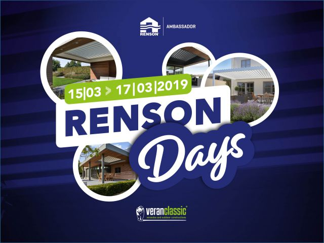 Renson Days 15 - 17 maart