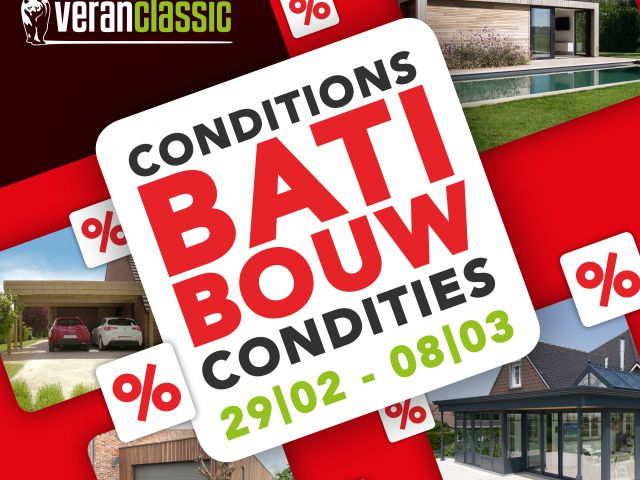 Conditions Batibouw 2020