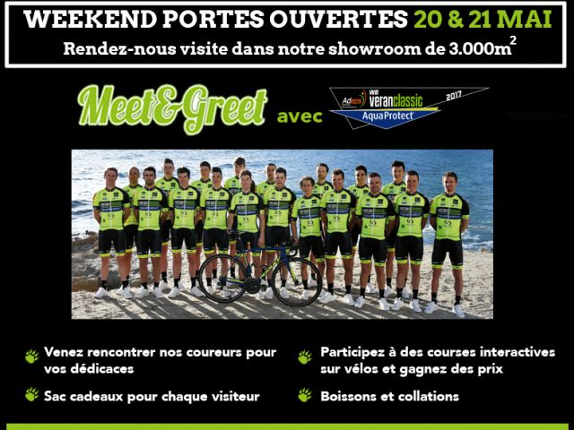 Weekend Portes Ouvertes 20 &21 mai