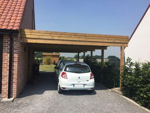 Carport aan huis