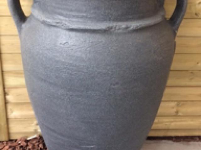Regenton grijs