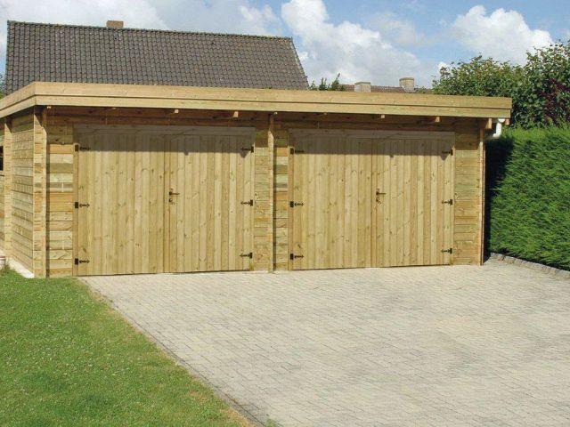 Moderne dubbele garage