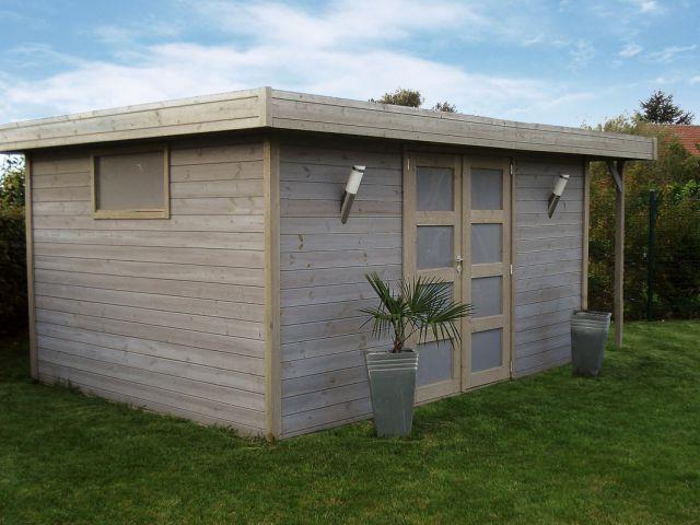 Tuinhuis modern tuinhuis inspirerende foto 39 s en idee n for Chalet jardin moderne