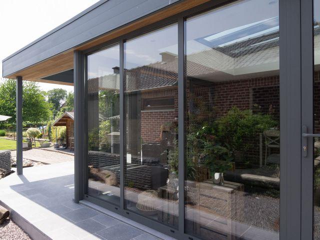 Aluminium veranda pergola