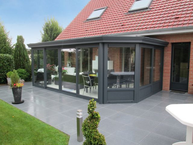 Extension en aluminium