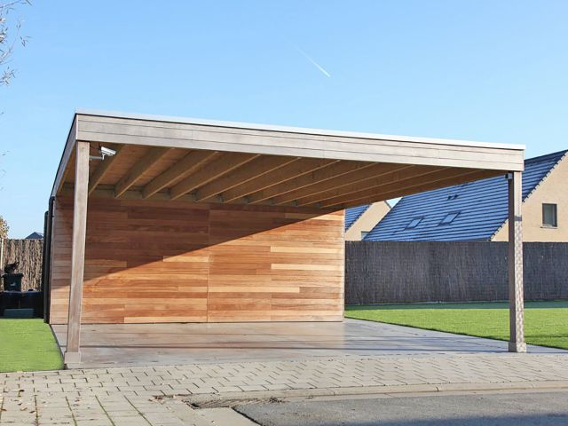 Losstaande carport