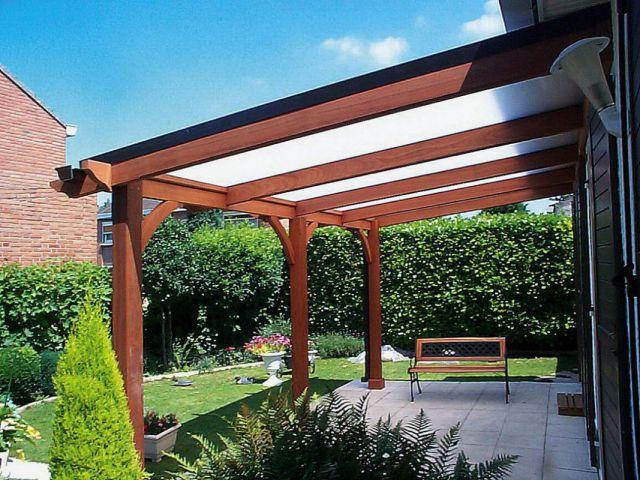 Houten of aluminium pergola veranclassic - Pergola houten ...