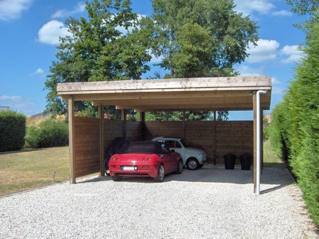 Losstaande moderne Carport voor meerdere voertuigen
