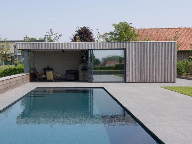 Annexe moderne en bois