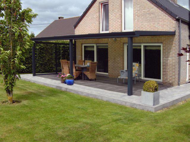 Toiture de terrasse moderne