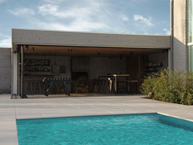 Pool House Avec Cuisine Et Bar