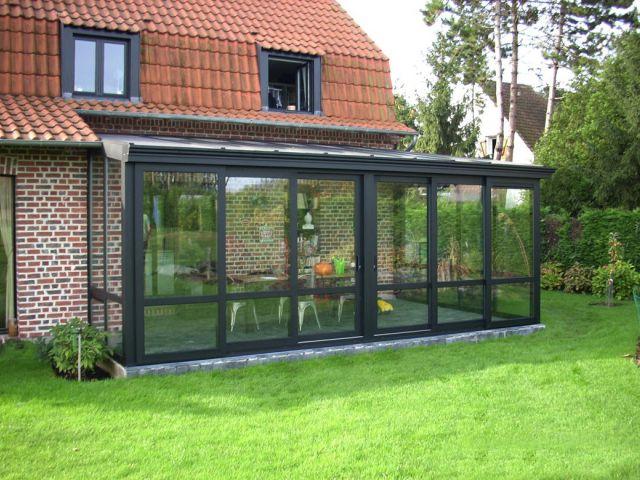 Extension maison véranda en aluminium Classic