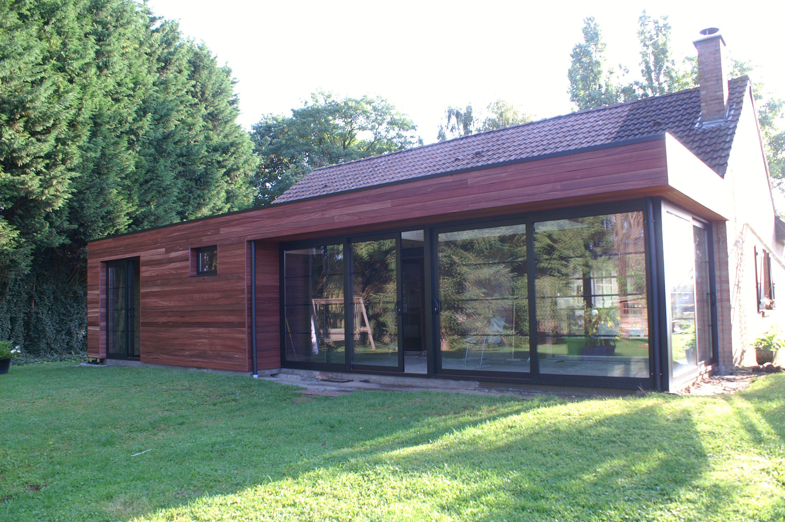veranclassic t moignage projet d 39 extension bois aluminium. Black Bedroom Furniture Sets. Home Design Ideas