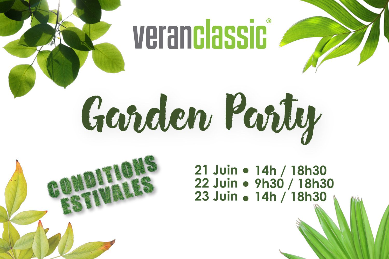 Garden Party chez Veranclassic