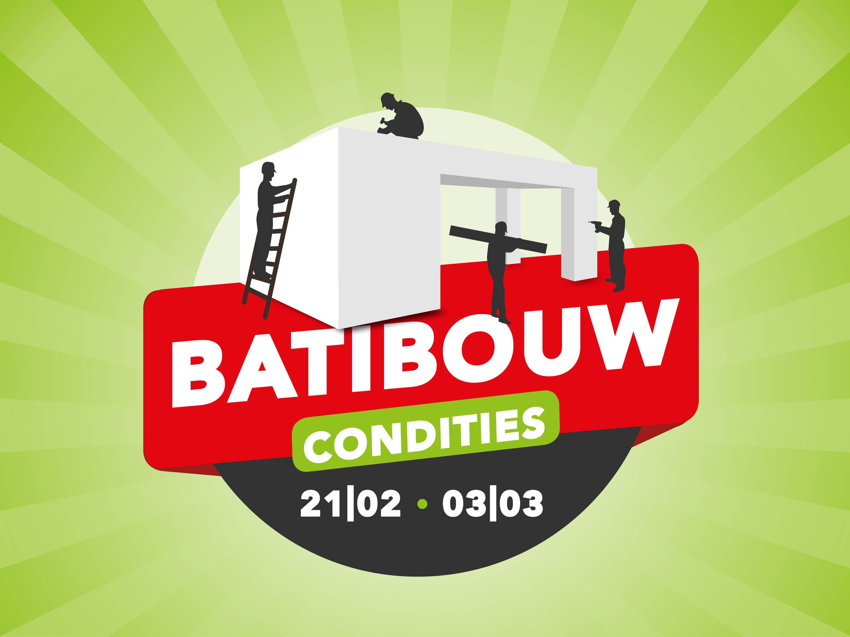 Batibouw Condities