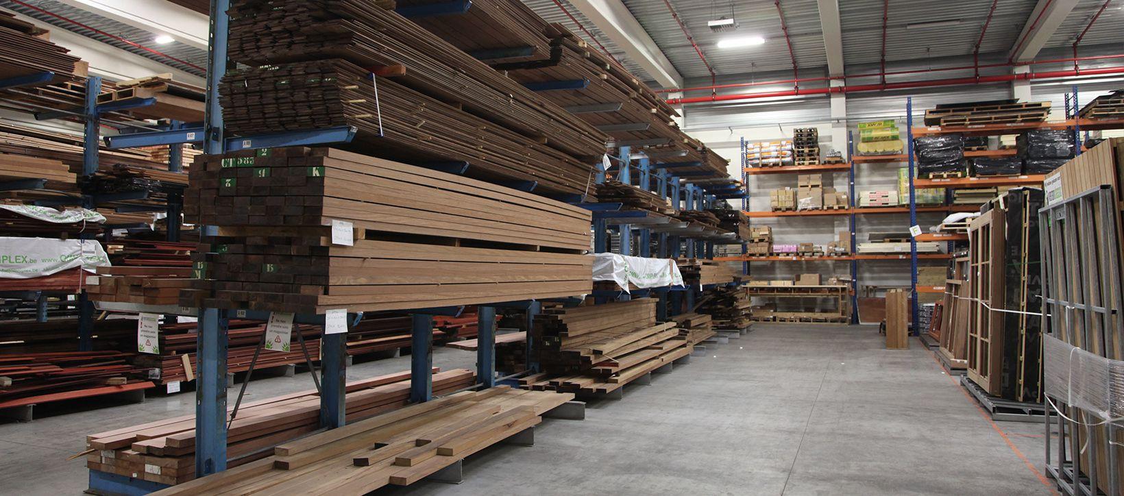 Notre entrepôt à bois