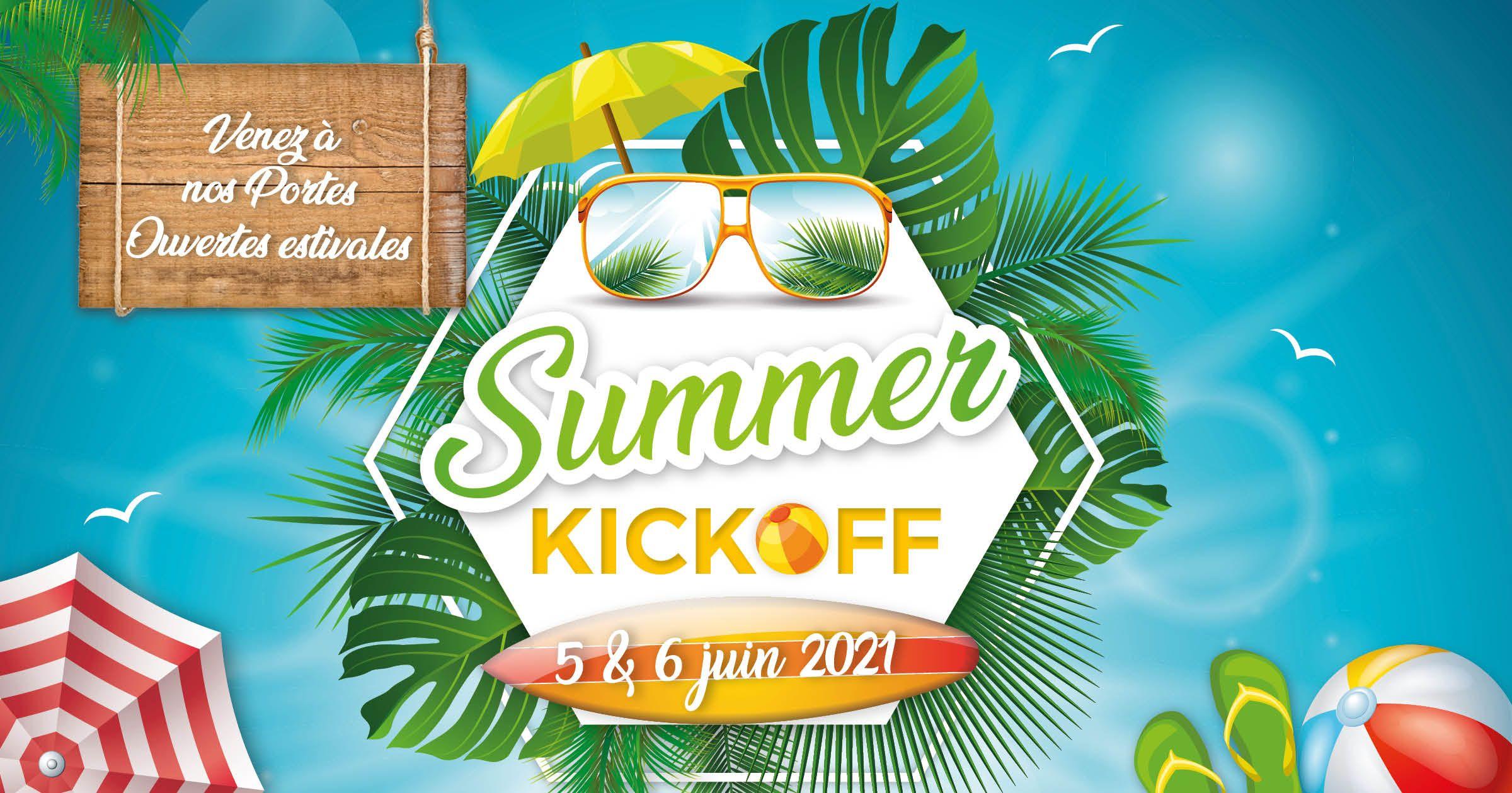Venez à nos portes ouvertes Summer Kickoff