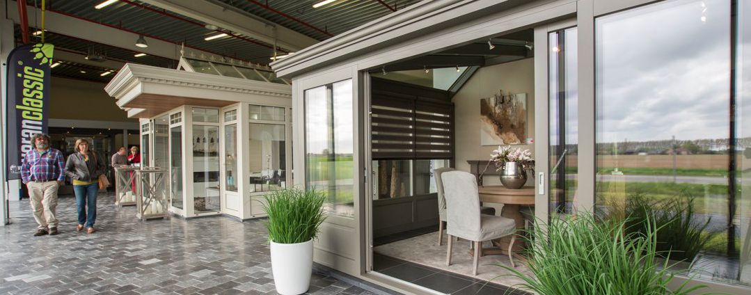 Showroom veranda's