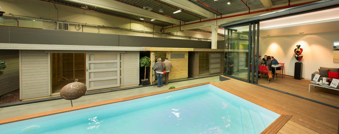 Showroom Poolhouses - Tuinhuizen