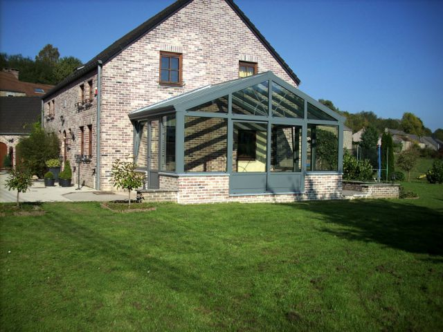 Agrandissement de maison en aluminium