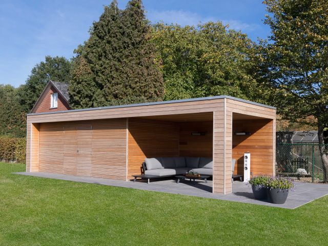 Pool house moderne sur mesure