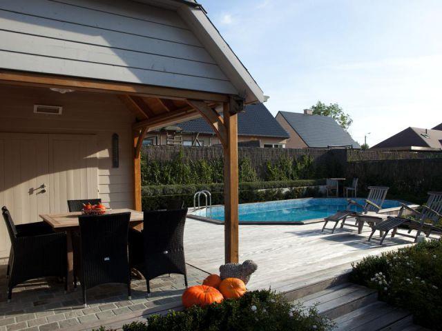 Cottage-poolhouse op maat