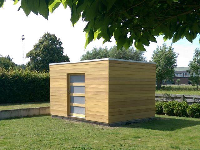 Tuinhuis cube