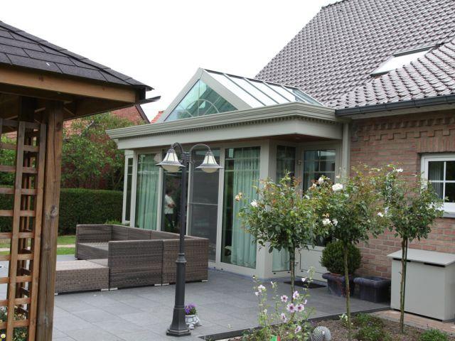 Klassieke veranda