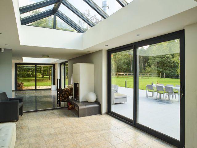 veranclassic extension v randa sur mesure en aluminium. Black Bedroom Furniture Sets. Home Design Ideas