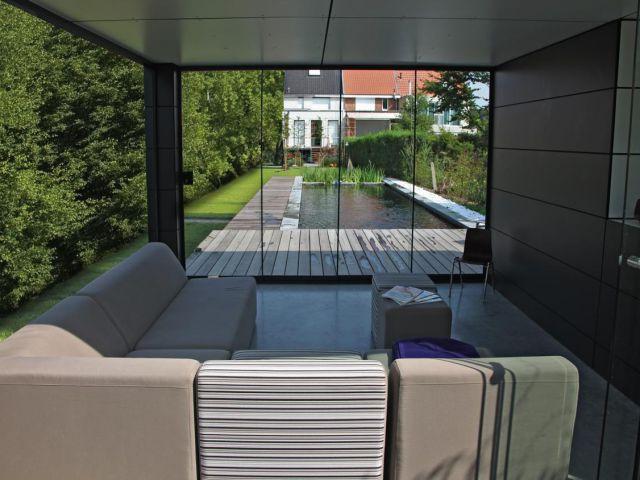 Poolhouse als ontspanningsruimte
