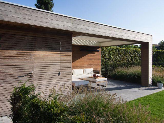 Modern poolhouse op maat