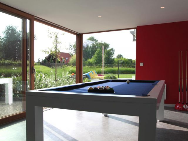 Poolhouse inrichting