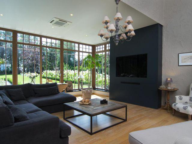 Woonveranda interieur