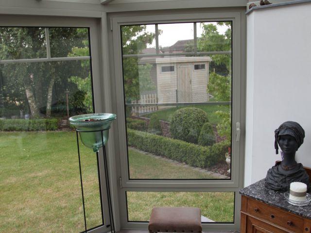 Aluminium veranda-pergola
