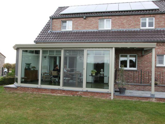 Aluminium veranda-pergola op maat