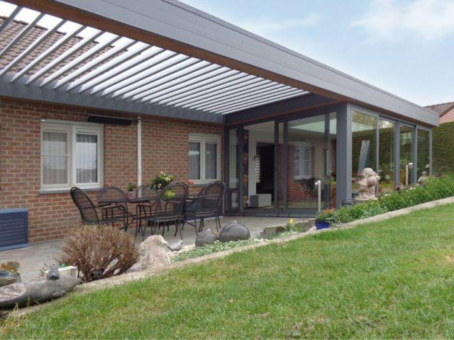 Veranda met Renson terrasoverkapping